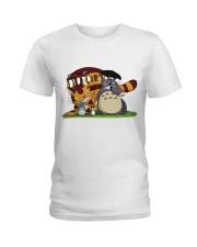Totoro cat bus Ladies T-Shirt thumbnail