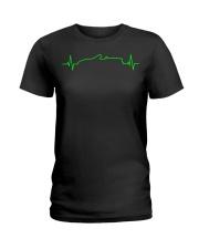 MX-5 Miata NB Heartbeat Ladies T-Shirt thumbnail