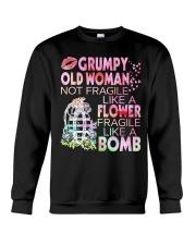 GRUMPY OLD WOMAN Crewneck Sweatshirt thumbnail