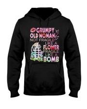 GRUMPY OLD WOMAN Hooded Sweatshirt thumbnail