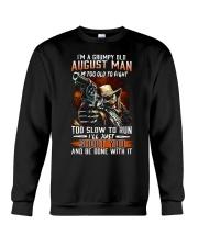 H- Grumpy old man-T8 Crewneck Sweatshirt thumbnail