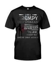 Grumpy old woman Classic T-Shirt thumbnail