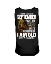 SEPTEMBER MAN Unisex Tank thumbnail
