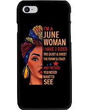 JUNE WOMAN Phone Case thumbnail