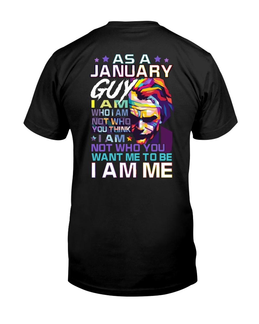 January T shirt Printing Birthday shirts for Men Classic T-Shirt