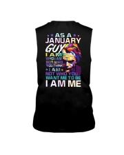 January T shirt Printing Birthday shirts for Men Sleeveless Tee thumbnail