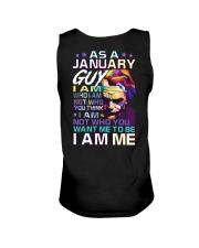 January T shirt Printing Birthday shirts for Men Unisex Tank thumbnail