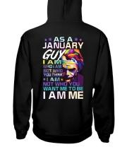 January T shirt Printing Birthday shirts for Men Hooded Sweatshirt thumbnail