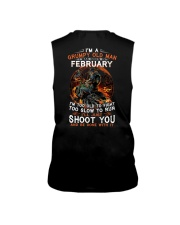February T shirt Printing Birthday shirts for Men Sleeveless Tee thumbnail