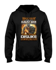 dislike august Hooded Sweatshirt tile