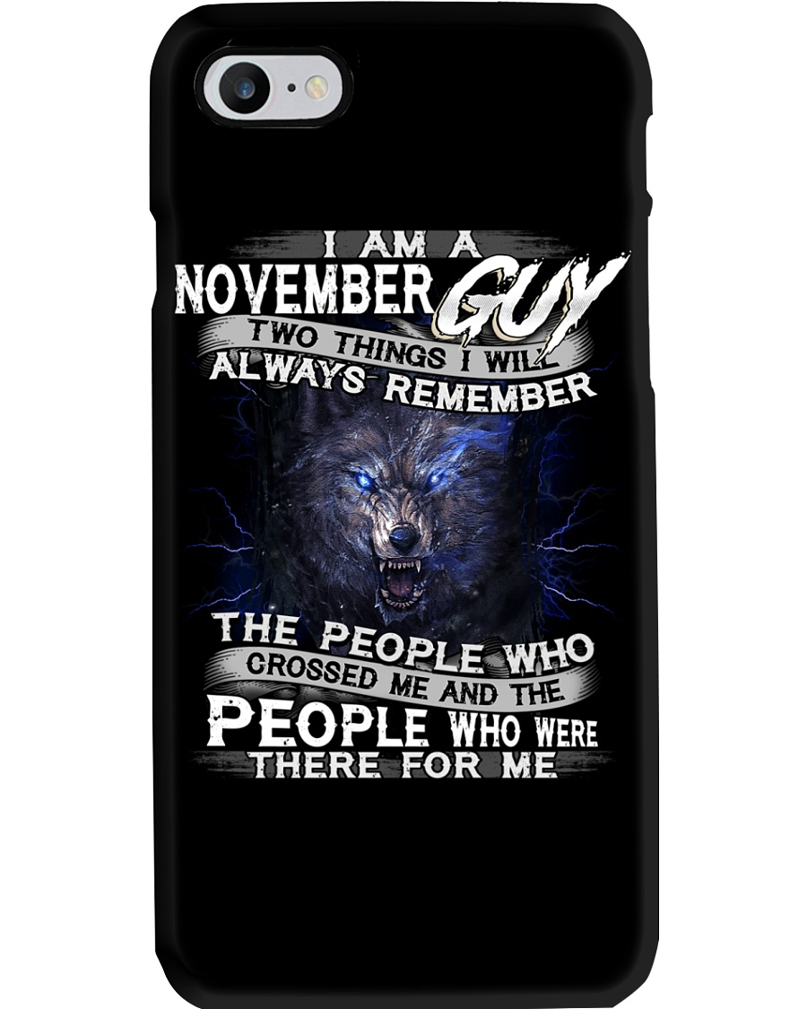 NOVEMBER GUY Phone Case showcase