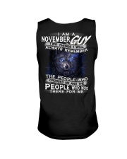 NOVEMBER GUY Unisex Tank thumbnail