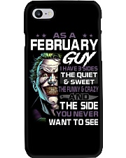 FEBRUARY GUY Phone Case tile