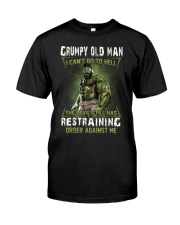 H - GRUMPY OLD MAN Classic T-Shirt front