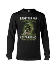 H - GRUMPY OLD MAN Long Sleeve Tee thumbnail