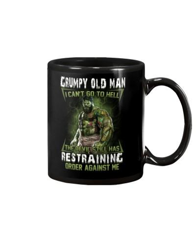 H - GRUMPY OLD MAN