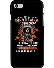 Grumpy old woman Phone Case thumbnail