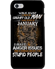 January T shirt Printing Birthday shirts for Men Phone Case thumbnail