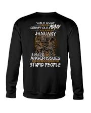 January T shirt Printing Birthday shirts for Men Crewneck Sweatshirt thumbnail