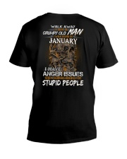January T shirt Printing Birthday shirts for Men V-Neck T-Shirt thumbnail