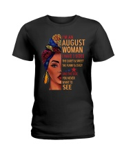 H- AUGUST WOMAN Ladies T-Shirt front