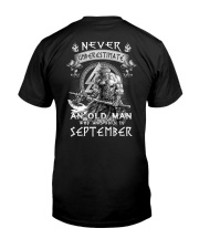 SEPTEMBER MAN  Z Classic T-Shirt back