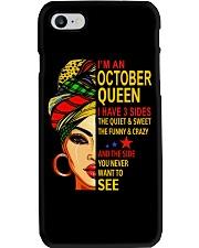 OCTOBER QUEEN Phone Case thumbnail