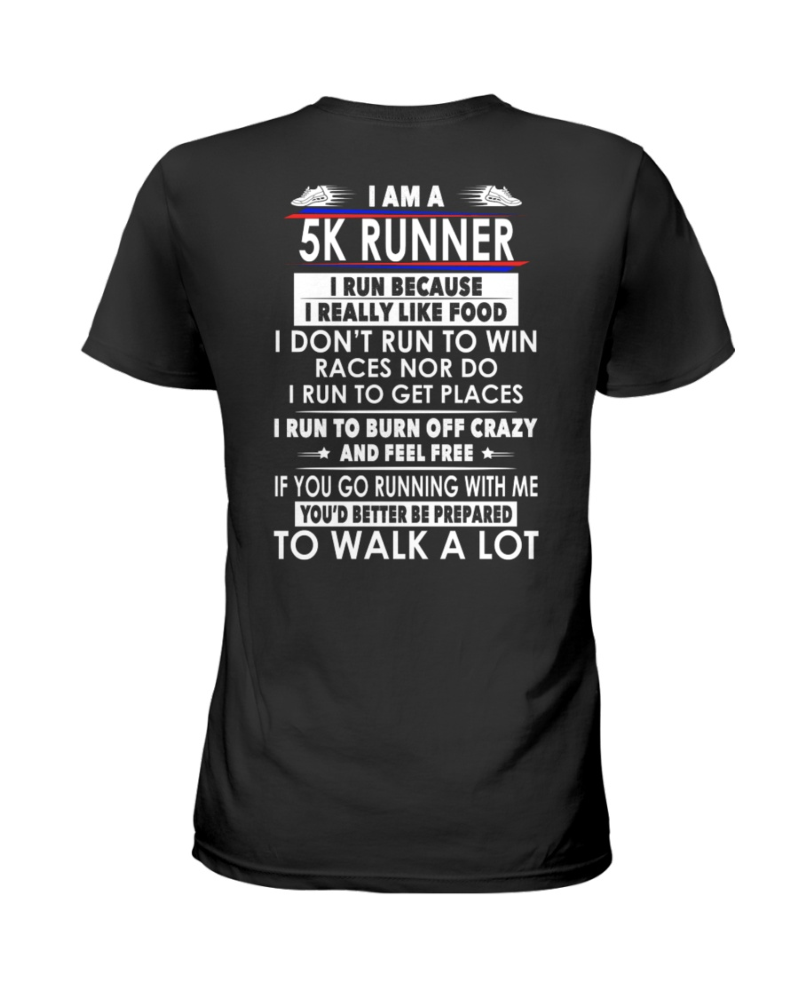 RUNNER 5K Ladies T-Shirt