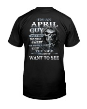 APRIL MAN-D Classic T-Shirt back