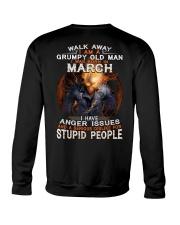 H - MARCH MAN Crewneck Sweatshirt thumbnail