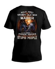 H - MARCH MAN V-Neck T-Shirt thumbnail
