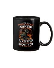Grumpy old man October tee Cool T shirts for Men-G Mug thumbnail