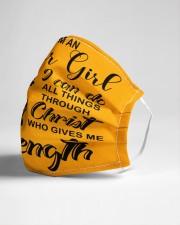 OCTOBER GIRL Cloth face mask aos-face-mask-lifestyle-21