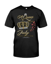 A Queen-crown-T7 Classic T-Shirt front