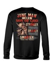 June T shirt Printing Birthday shirts for Men Crewneck Sweatshirt thumbnail