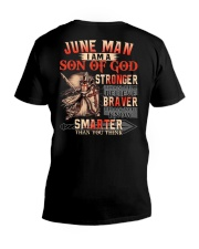 June T shirt Printing Birthday shirts for Men V-Neck T-Shirt thumbnail