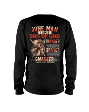 June T shirt Printing Birthday shirts for Men Long Sleeve Tee thumbnail