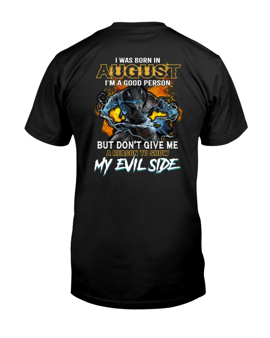 AUGUST MAN - L Classic T-Shirt
