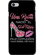 12 DE FEBRERO Phone Case tile