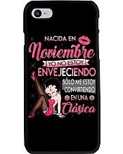 Camisetas sublimadas mujer clásica Noviembre Phone Case thumbnail