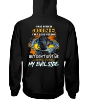 H - JUNE MAN Hooded Sweatshirt thumbnail