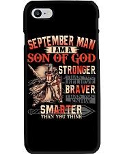 SEPTEMBER MAN Phone Case thumbnail