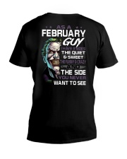 FEBRUARY GUY V-Neck T-Shirt thumbnail