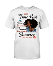 i am stronger-T6 Classic T-Shirt front