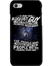 AUGUST GUY Phone Case thumbnail