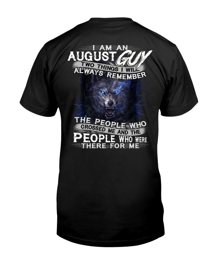 AUGUST GUY Classic T-Shirt