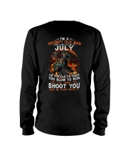 Grumpy old man July tee Cool T shirts for Men Long Sleeve Tee thumbnail