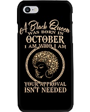 OCTOBER QUEEN-V Phone Case thumbnail
