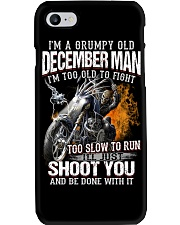 December T shirt Printing Birthday shirts for Men Phone Case thumbnail