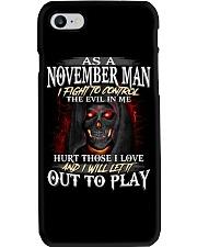 NOVEMBER MAN Phone Case thumbnail